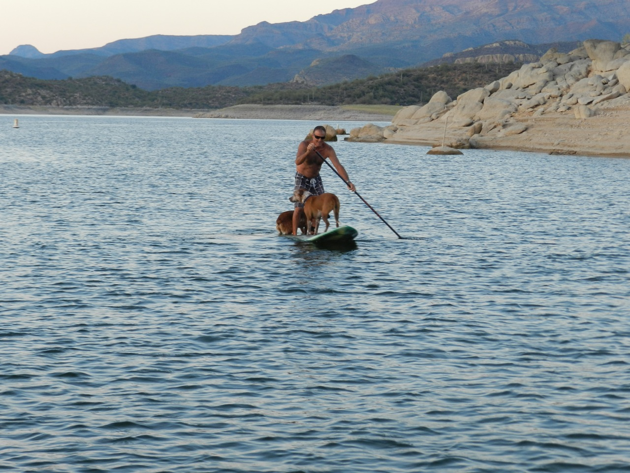 Paddle boarding in Phoenix